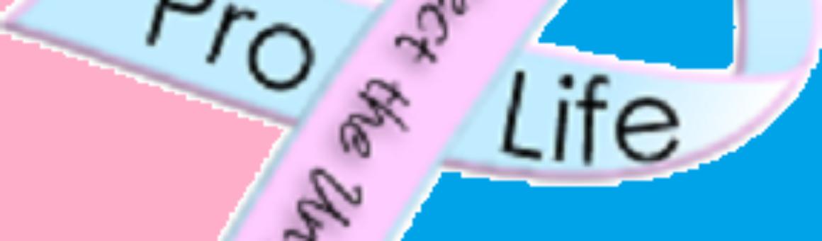 Pro-life ribbon