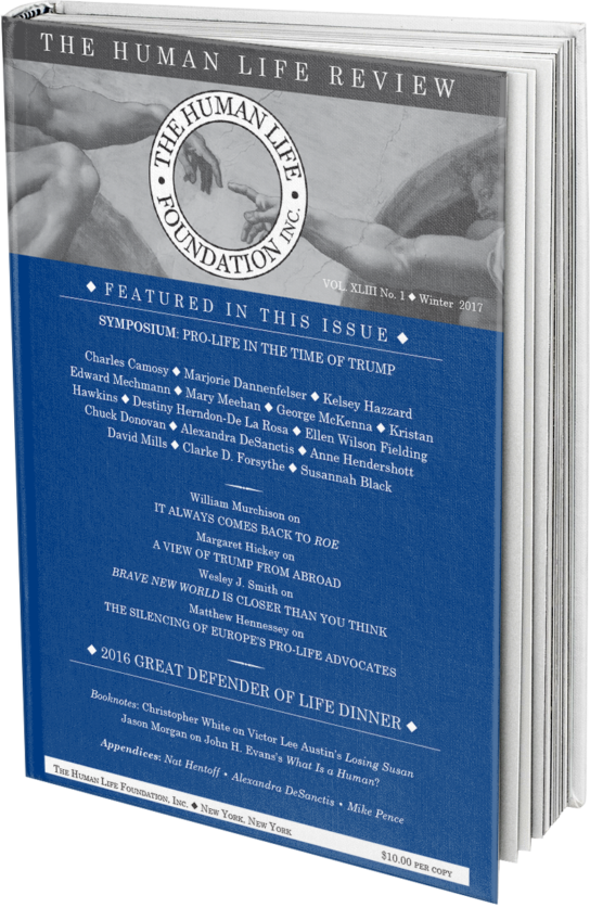 Human Life review Winter 2017